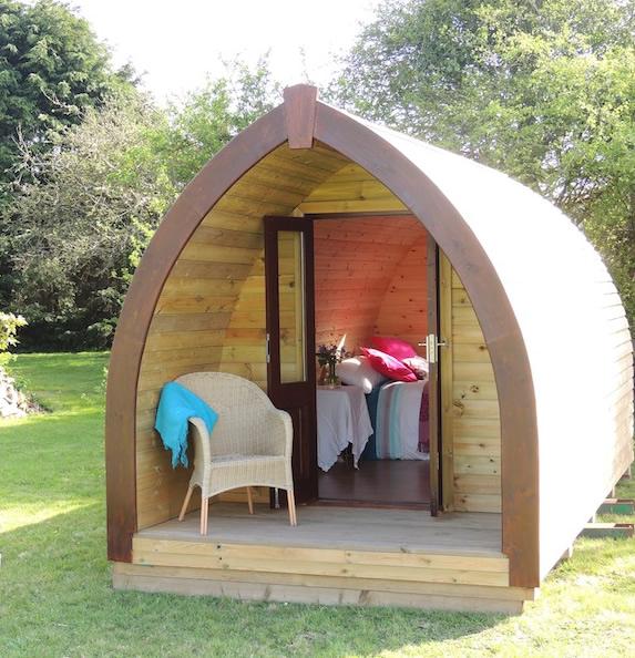 Camping Pod, Ashdown Cabins