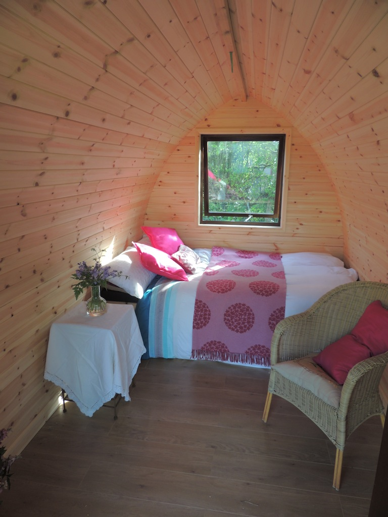 Camping Pods, Ashdown Cabins